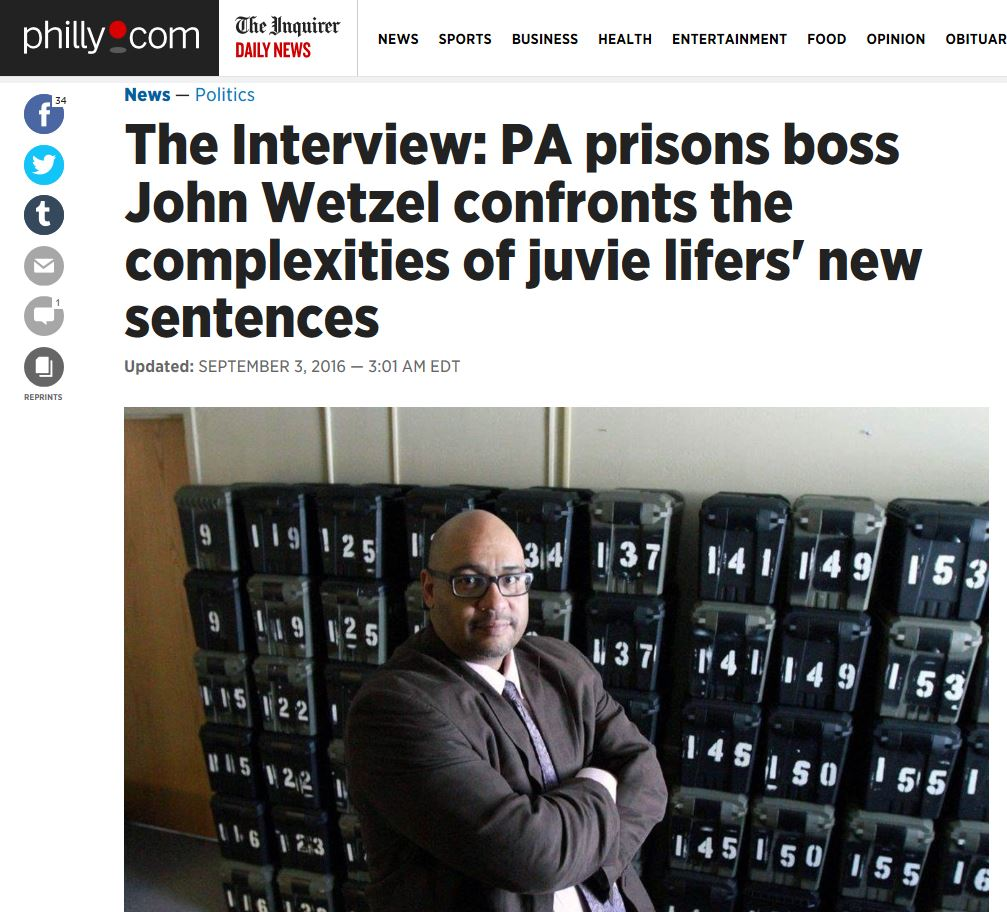 IMAGE - Wetzel interviewed by John Baer about Juvenile Lifers.JPG
